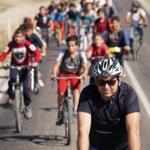 Miryokefalon Zaferi'nin 843. yıldönümü ve Avrupa Hareketlilik Haftası etkinlikleri kapsamında bisikletseverler pedal çevirdi.